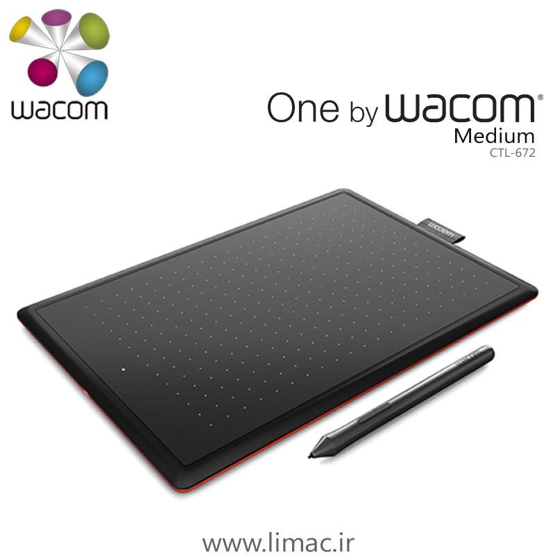 وان بای وکوم متوسط One By Wacom Medium CTL-672