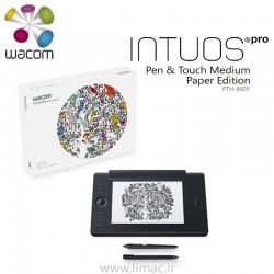 اینتوس پرو متوسط کاغذدارIntuos Pro Medium Paper Edition PTH-660P