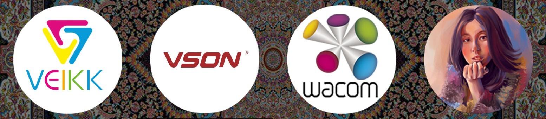 محصولات وکام (Wacom)